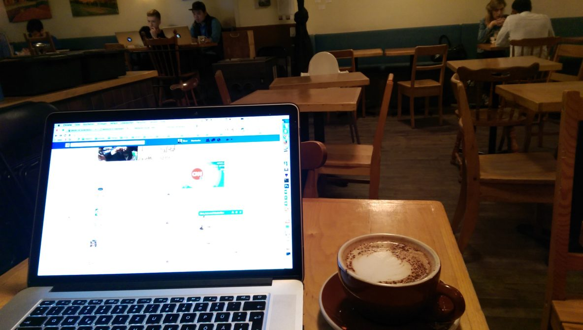 Café Résonance Montréal Workspace
