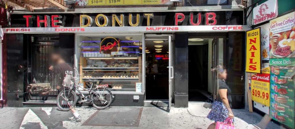 Donut Shop - Donut Pub NYC