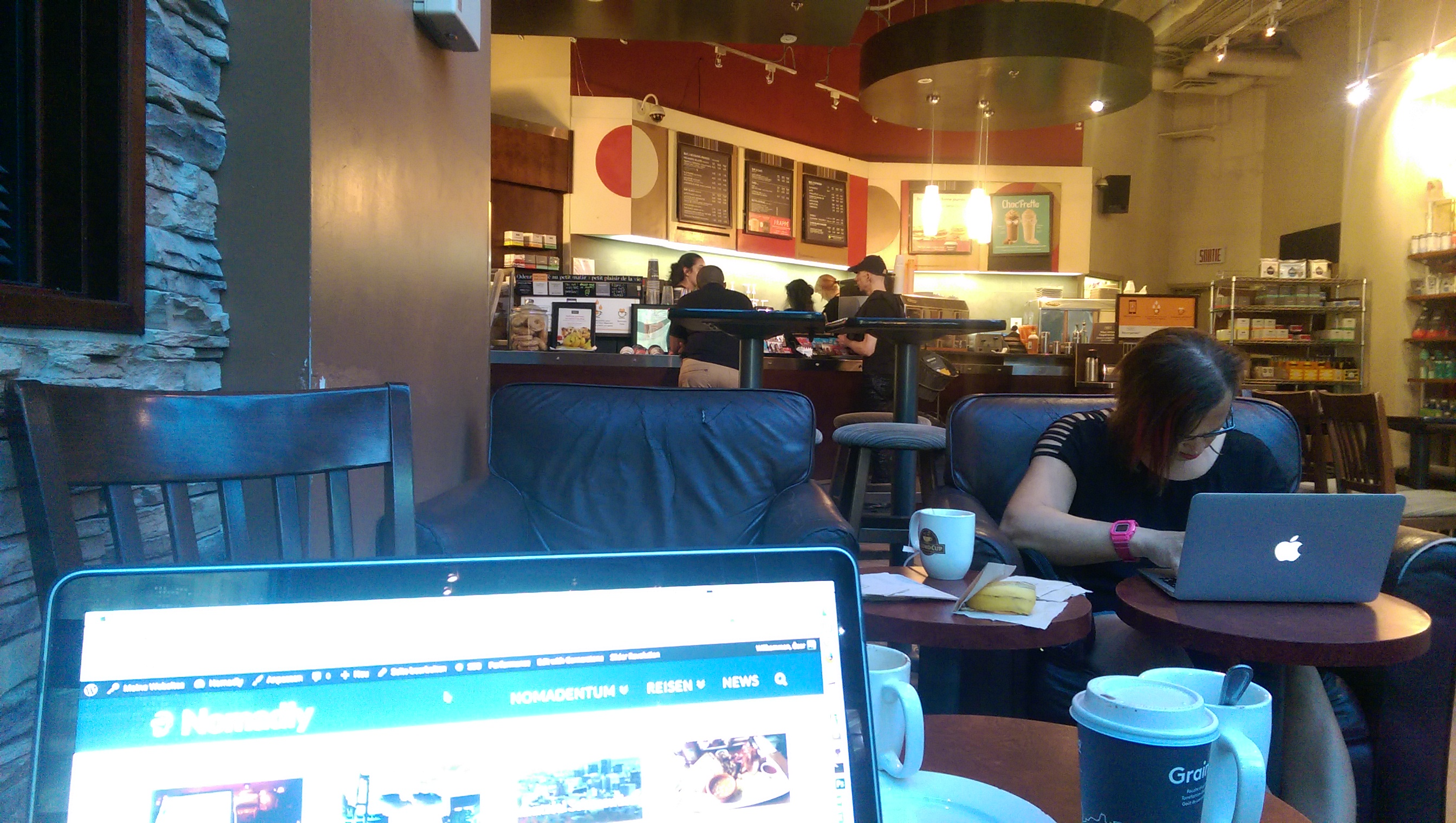 Second Cup Coffeeshop Montréal