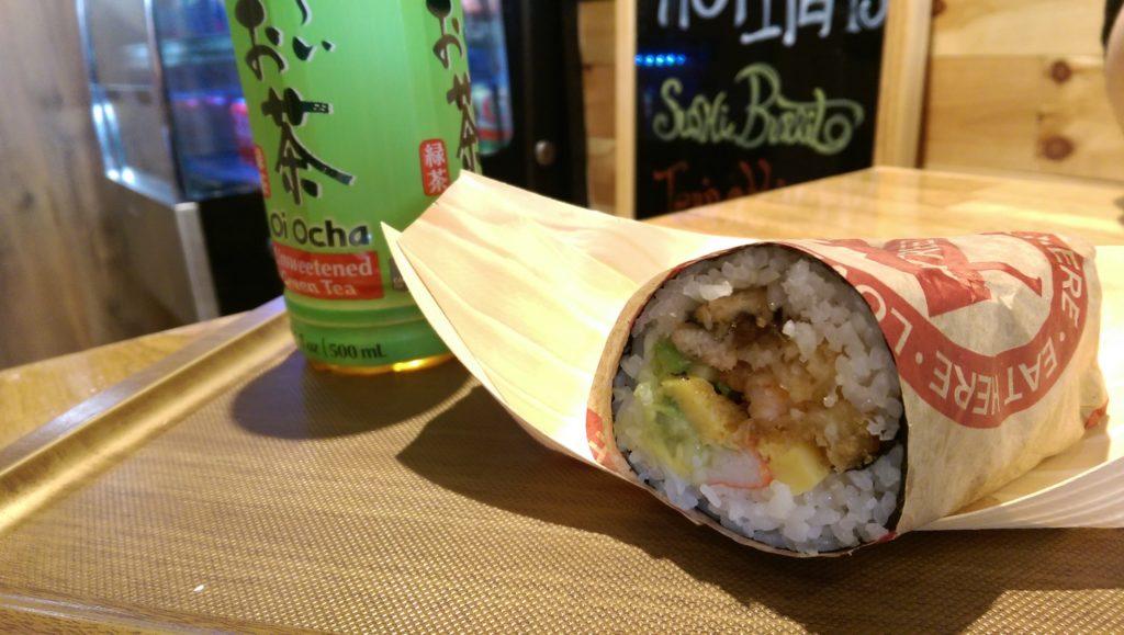 Sushi Burrito Rolle